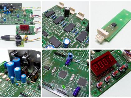DMX/Artnet/remoto, max 12 motori, lamp