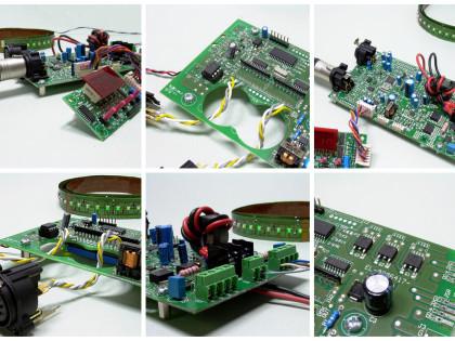 DMX/RDM, 25A – 600W max, 1/4 ch, 12/24 Vdc