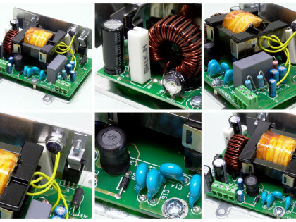 Dual Output 20/40V 200W (in 400V dc)